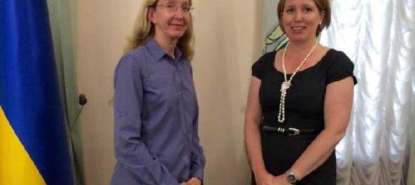 Уляна Супрун провела низку зустрічей із послами іноземних країн
