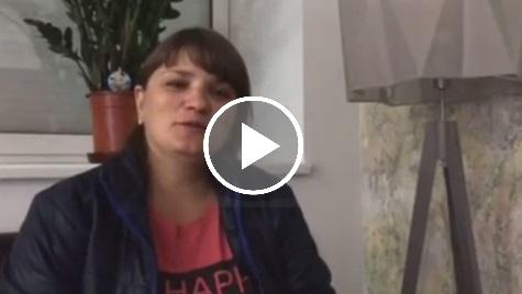 Жена погибшего героя АТО: «Я счастлива от того, что рядом со мной мой ребенок»
