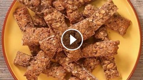 Шоколадно-вівсяні батончики