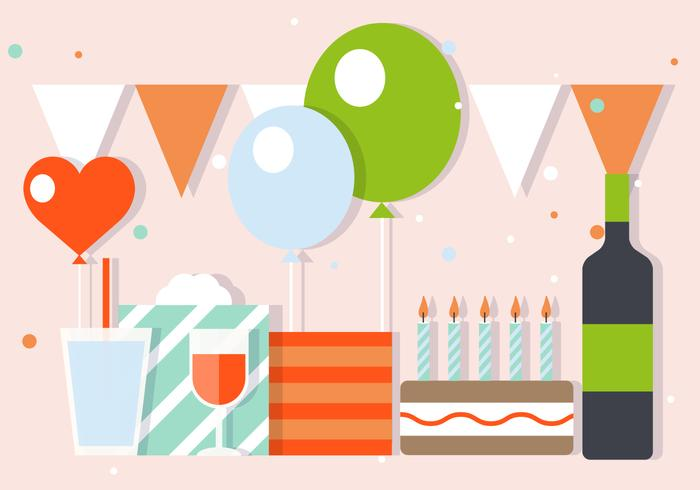 free-party-and-celebration-vector-illustration