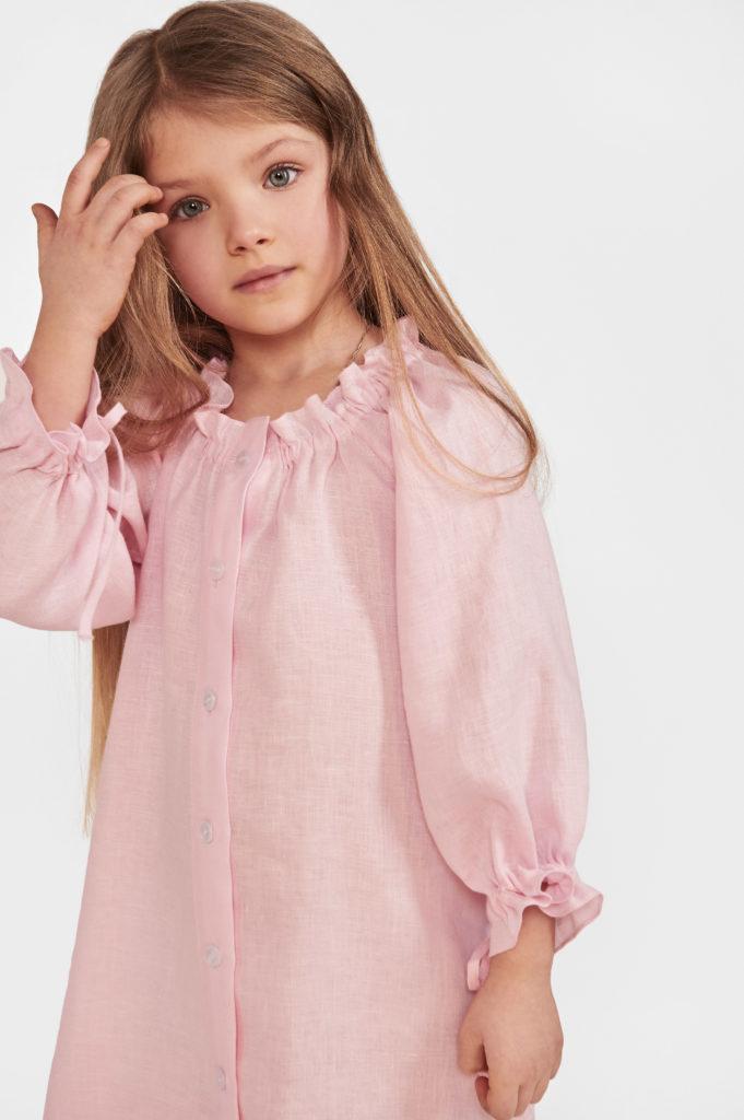 SP1703D_Sleeper_Macaron Linen Petit Dress_160 USD (1) (1)
